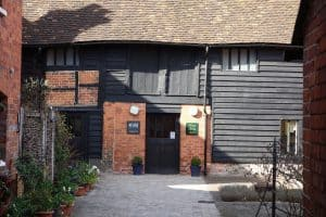 Kings Arms Barn seen from the Market Place